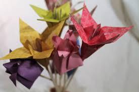 Paper Origami Flower Bouquet Handmade Paper Origami Flower Bouquet Wedding Bouquet Etsy