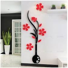 multicolor love letter 3d acrylic wall stickers couple wedding room wall decoration living room