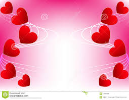 Abstract Heart Red For Valentine Card Design Stock Vector