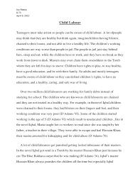 joy s child labour essay joy s child labour essay joy abaya8 73 9 2012 child labourteenagers must take