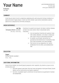 resume maker professional free download resume maker resume format ...