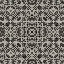 patterned cushion sheet vinyl flooring moroccan design tangier 04 greys and blacks