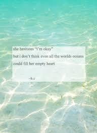 Ocean Quote Tumblr
