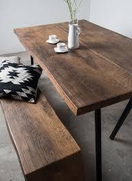 Esstisch Holz Metallbeine