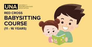 Red Cross Babysitting Course University Neighbourhoods