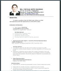 Resume Work Experience Format Classy Resume Work Experience Examples Sales Also Best Ideas Of Inside