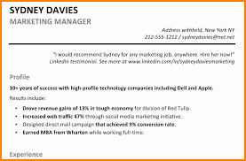Best Solutions Of Profile Examples For Resume Extraordinary Resume