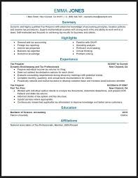 Resume Examples Tax Professional Resume Ixiplay Free Resume Samples