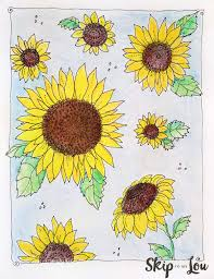Small Picture Kansas Day Sunflower Coloring Page Skip To My Lou