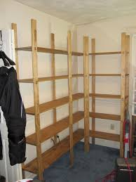 Corner Bookcase Plans Cheap Easy Low Waste Bookshelf Plans 5 Steps With Pictures