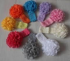 Crochet Flower Pattern For Headband Amazing Crocheted Flowers For Headbands NZ Buy New Crocheted Flowers For