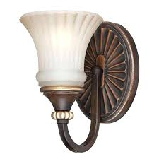 sconces hampton bay wall sconce replacement glass bay sconce bay 1 light oil rubbed bronze