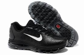 nike air max leather men s running shoes black white nike air max white
