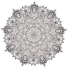 Un De Mandala Ultra Detaille Anvino Mandalas Tr S Difficiles