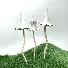 ceramic garden ornaments fairy garden ornaments garden mushroom garden toadstool garden mushrooms garden toadstools garden ornament ceramic garden