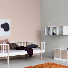 childrens day bed. White And Oak Rounded Single Children\u0027s Day Bed By Oliver Childrens A