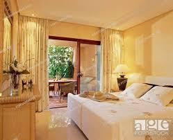 balcony in modern apartment bedroom