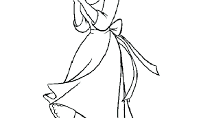 Free Cinderella Coloring Pages Antiatominfo