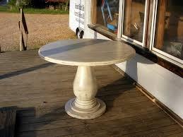 table glamorous 36 inch round drop leaf pedestal 30 unfinished wood base bobreuterstl inside decorating inch