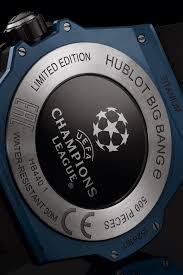 Where to watch the champions league ©getty images. Big Bang E Uefa Champions League 42 Mm Hublot