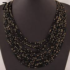 <b>Bohemia</b> Necklace <b>Fashion</b> For Women Brand ZA Exaggerated ...