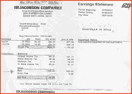 paycheck stub creator best of adp check stub maker personal leave