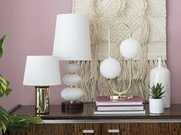 bhs spring summer 2018 trends home inspiration ss18 table lamps brass gold