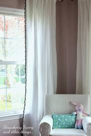 Strawberry Kitchen Curtains Strawberry Swing And Other Things Sew Fun Project 10 Pom Trim
