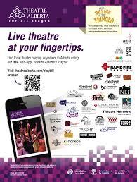 ad sample 2012 2013 web app ad sample theatre alberta