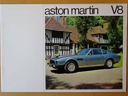 Broschüren Kataloge Aston Martin V8 Saloon V8 Volante Catawiki