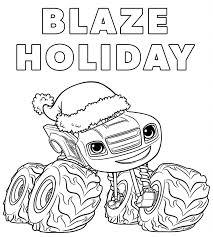 Gigantic Blaze Coloring Pages Free 21888 3dnerja