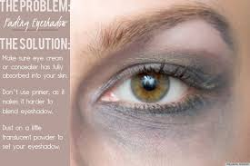 fading eyeshadow
