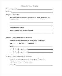 outline templates premium templates persuasive essay outline