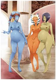 3girls aayla secura absurdres ahsoka tano barefoot barriss offee.