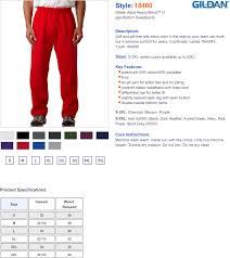Gildan Open Bottom Sweatpants Size Chart Gildan Open Bottom Sweatpant True To Size Apparel
