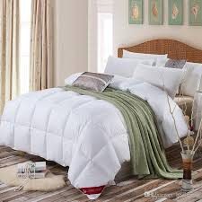 100 cotton quilt 95 goose down comforter soft warm queen king size high quality quilt duvet hypo allergenic bedroom autumn winter spring goose down