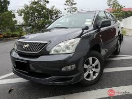 2006 Toyota Harrier for sale in Malaysia for RM68,800 | MyMotor