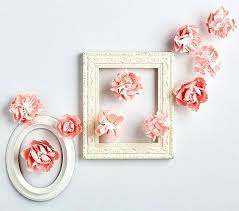 wall decor flowers pink mixed flower wall decor wall decor 3d paper flowers wall decoration with