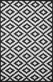 black and white outdoor rug designs