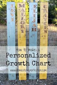 Wood Personalized Growth Chart Tiendateam Co