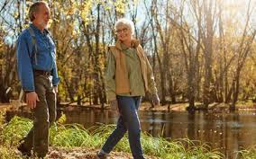 Image result for free image of  old age morning walk