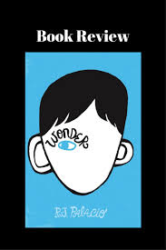 book review for wonder by rj palacio lots of great lessons in this book and it s about to be a a must read
