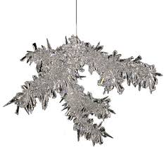 clear ice branch crystal chandelier lamp 36 width
