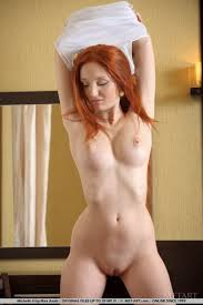Naked Neighbour Presents Naked Busty Redhead Cutie