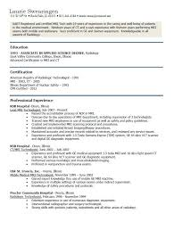 Tech Resume Examples Awesome MRI Technician Resume Examples Httpresumesdesignmri