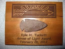 Arrow Of Light Display Plaque Arrow Of Light With An Arrowhead Custom Plaques Arrow Of