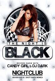 Night Club Flyer Free Black Night Club Party Flyer Template by AwesomeFlyer on DeviantArt 1