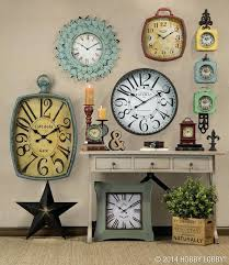 innovation ideas clock wall decor babymam info exciting or using for home decoration ward log decorative