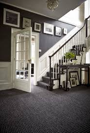 Small Picture Decorating Grey French Style Foyer With White Wooden Dado Modern