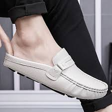 eur 39 44 top quality men loafers shoes luxury leather loafers casual driving shoes men